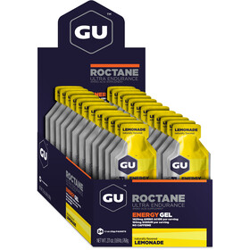 GU Energy Roctane Energy Gel Box 24 x 32g, Lemonade